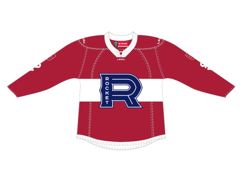 CCM Quicklite Laval Rocket Customized Premier Red Jersey