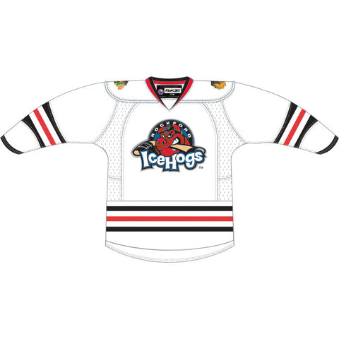 CCM Edge Rockford IceHogs Premier White Jersey