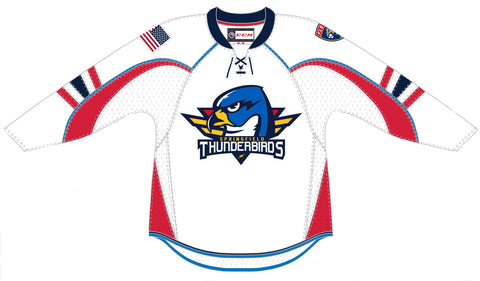 CCM Springfield Thunderbirds Adult White Premier Jersey