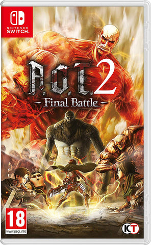 A.O.T.2 Final Battle Nintendo Switch, Nintendo Switch, DVDMEGASTORE, DVDMEGASTORE