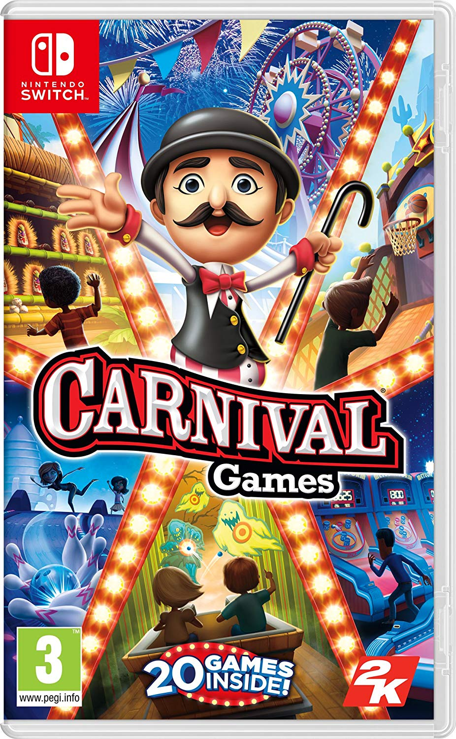 2K Games Carnival Games Nintendo Switch, Nintendo Switch, DVDMEGASTORE, DVDMEGASTORE