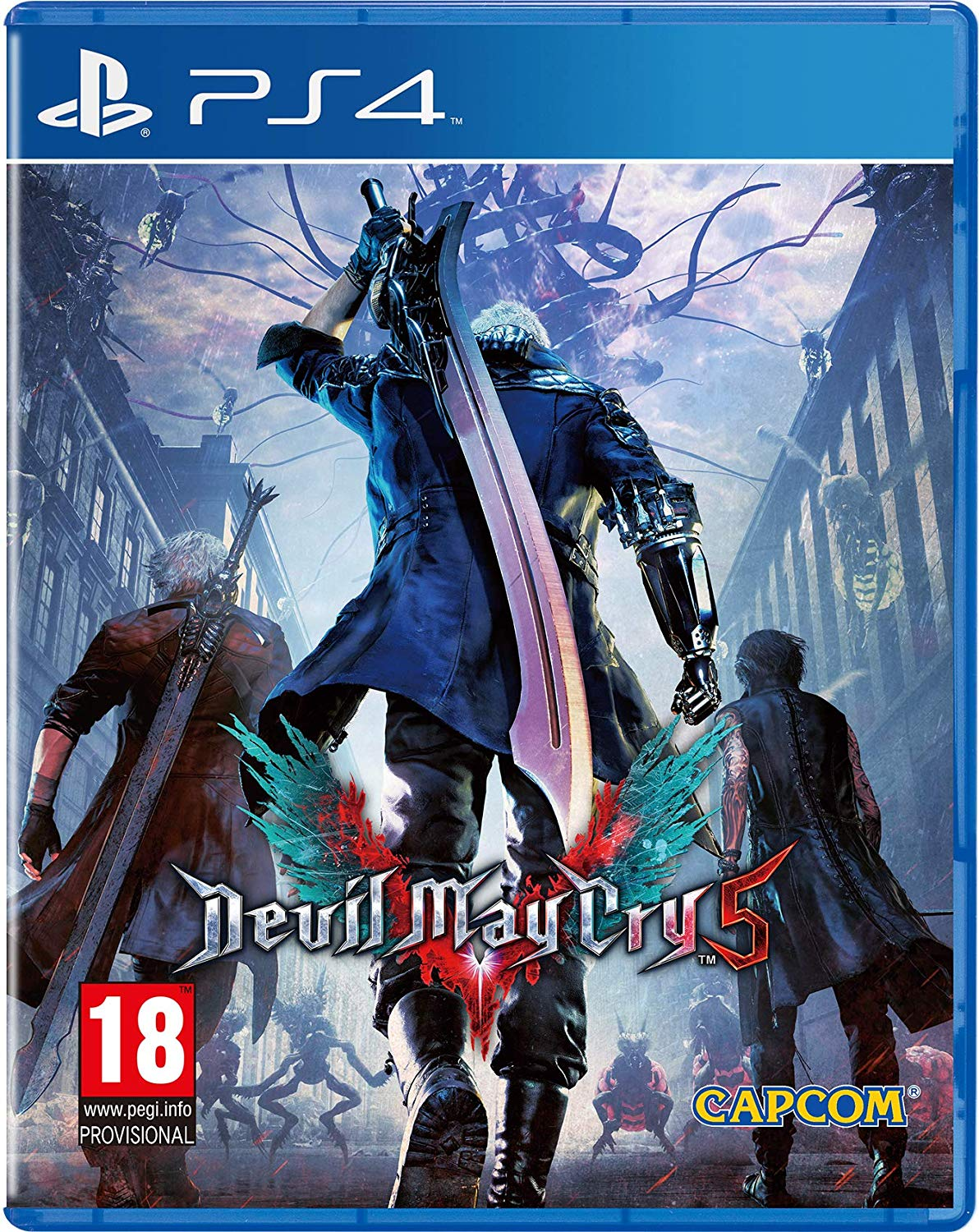 Devil May Cry 5 PS4, PS4, DVDMEGASTORE, DVDMEGASTORE