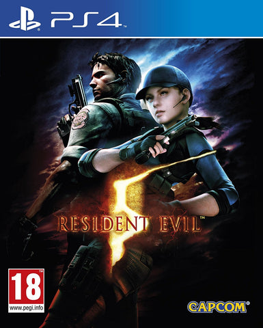 Resident Evil 5 HD Remake PS4