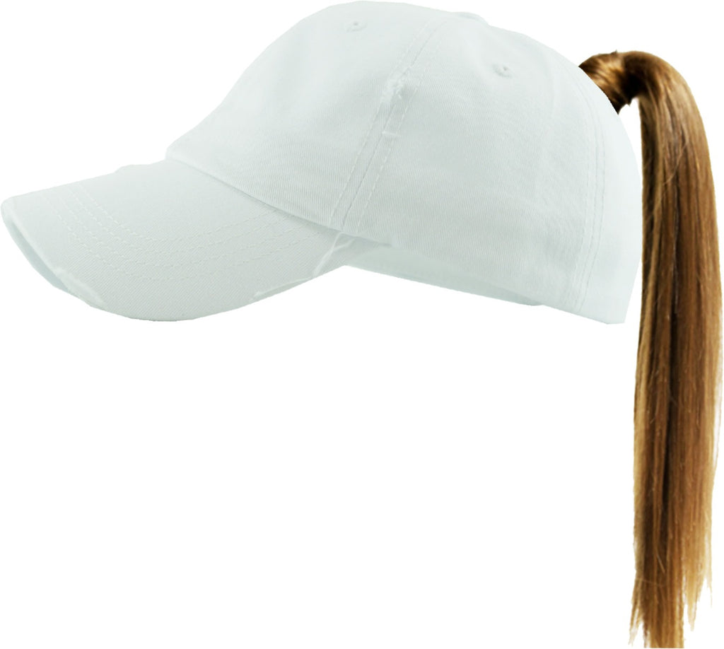 Clothing : Hats, Ponytail