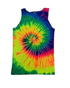 Clothing : Tye Dye Tanks