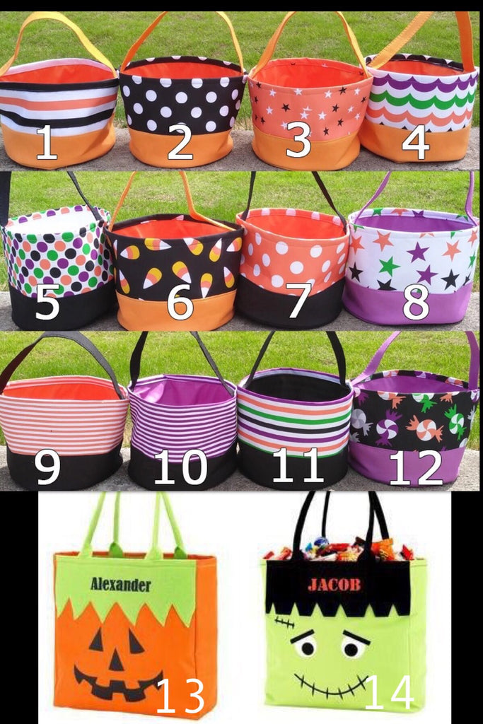 Seasonal : Halloween Buckets