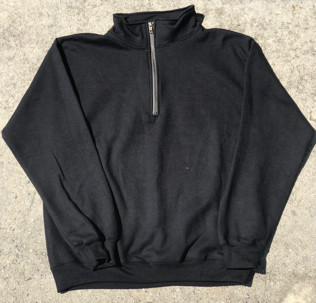 Clothing : Quarter Zip Sweater