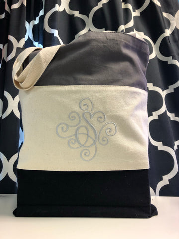 Bag : Tri Color 6oz Tote