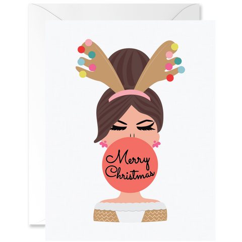 Hey Chica Merry Christmas Reindeer Outfit Sand Skin Tone [English]