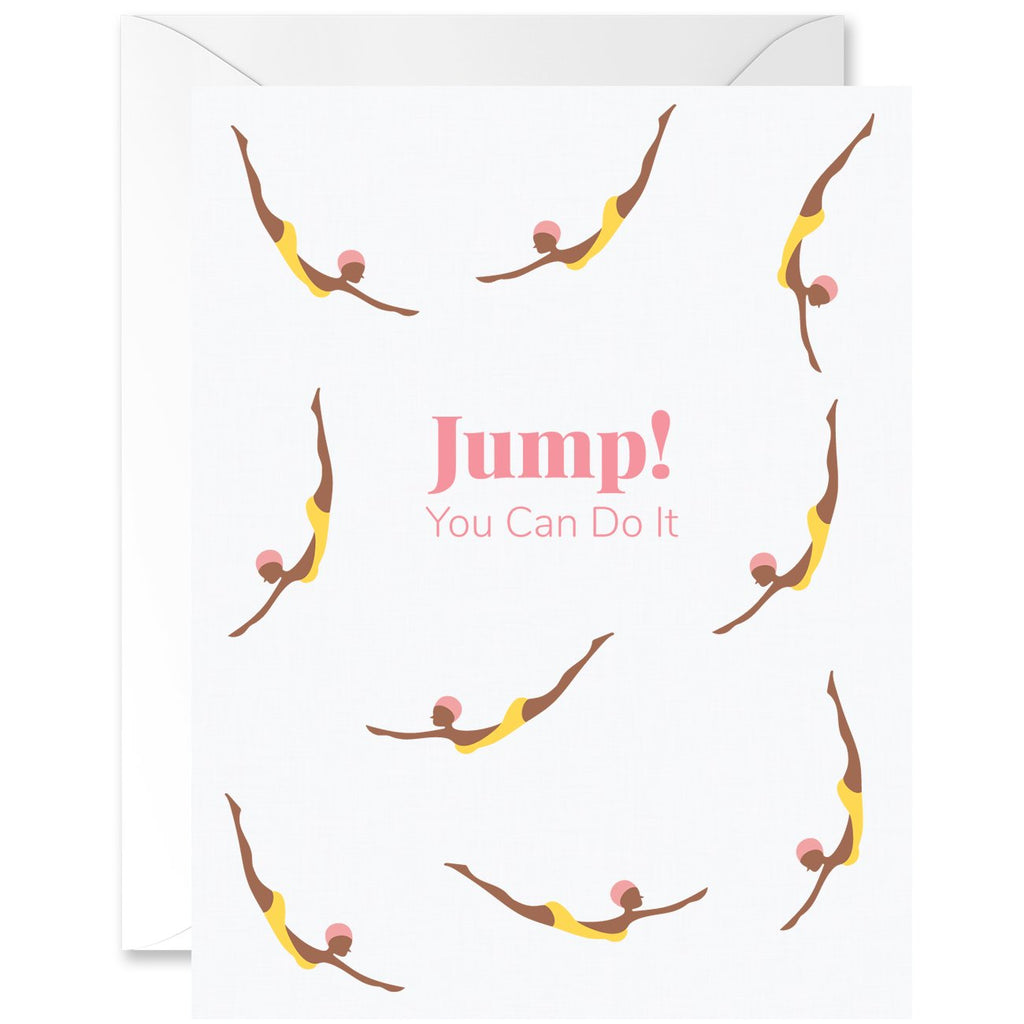 Jump! You Can Do It Diver Chicas Mocha Skin Tone [English]