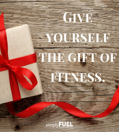 Give yourself the gift of fitness!