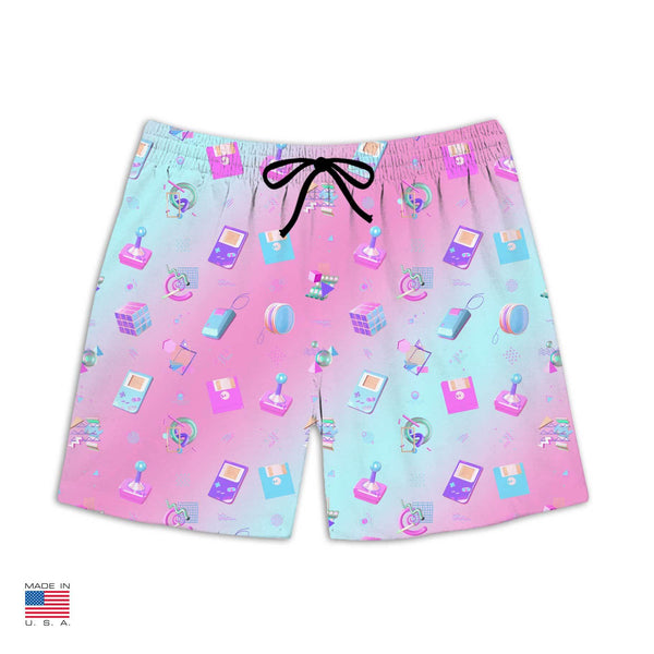 """Play Me"" Swim Shorts by Blake Kathryn"