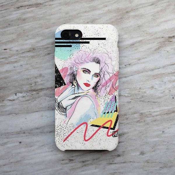 """Madonna"" Phone Case by Mizucat"