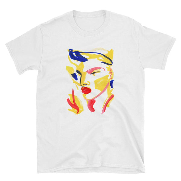 """Bowie"" Unisex T-shirt by Lynnie Zulu"