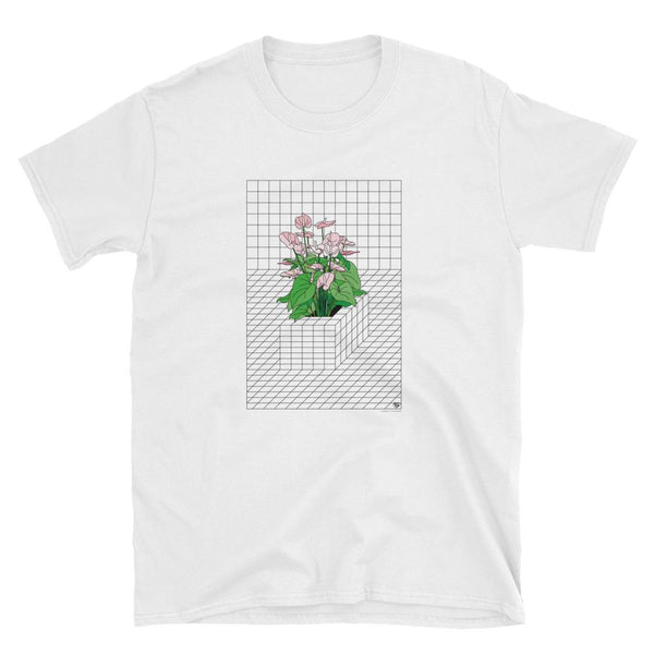 TRON FLOWER. T-SHIRT BY VENGODELVALLE