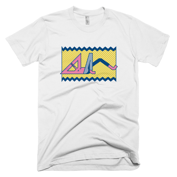 "Thomas Hedger ""Relax!"" Unisex T-shirt White"