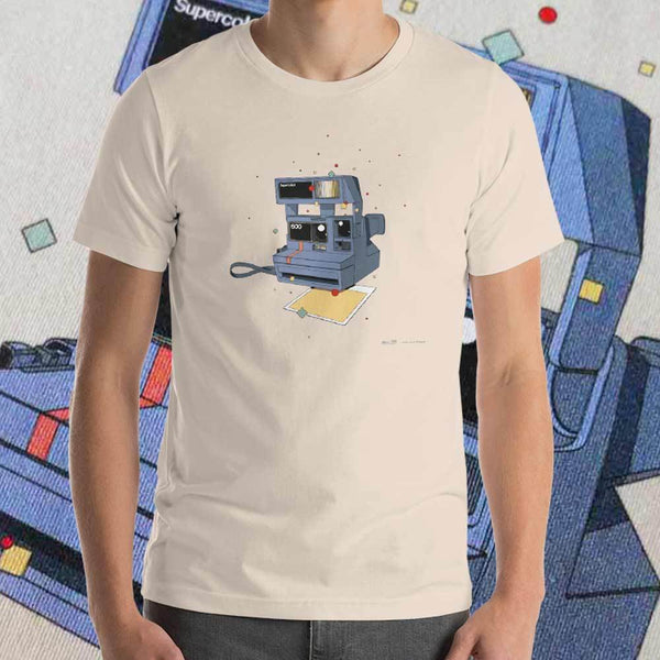 Polariod 600 T-shirt by Matteo Cellerino