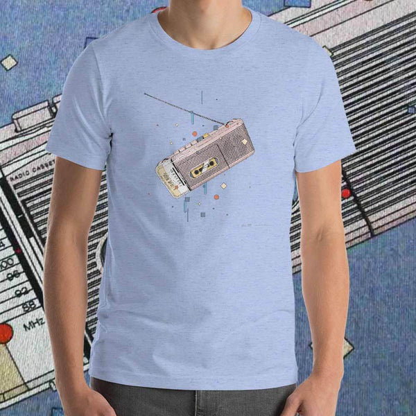 Sharp QT50 T-shirt by Matteo Cellerino