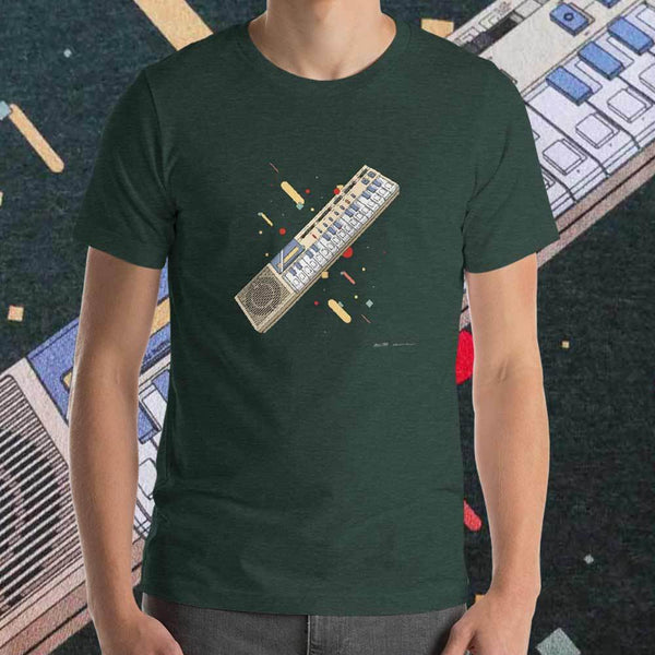 Casiotone T-shirt by Matteo Cellerino