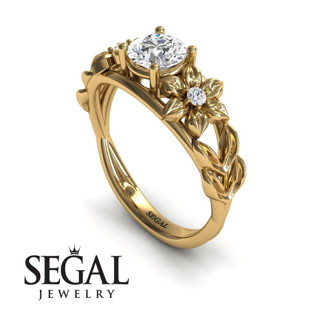 'Fresh Flora' Diamond Ring - Ella no. 1