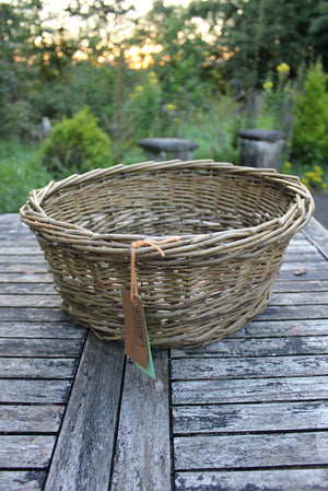 Large willow basket
