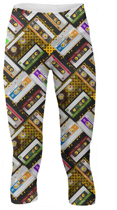 Cassettes Yoga Pants
