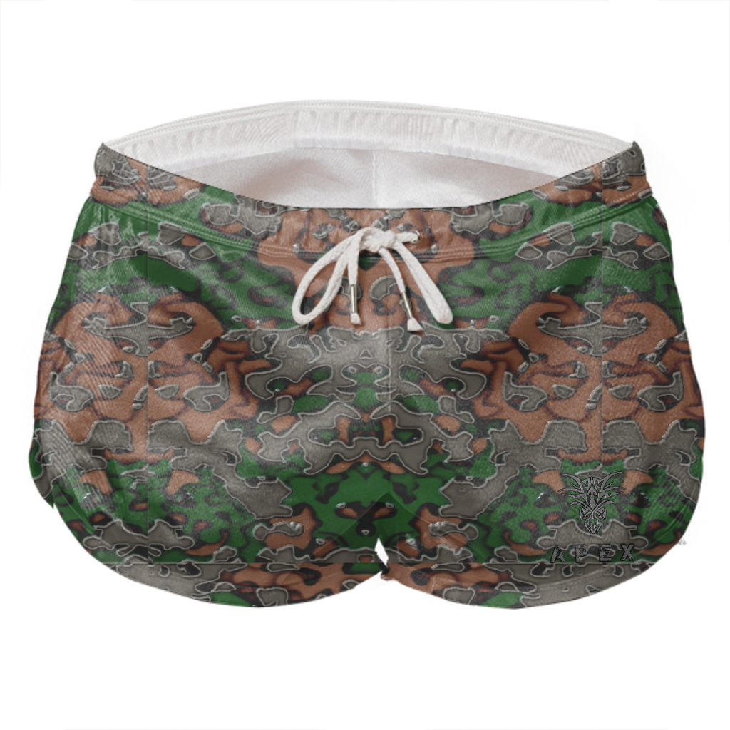 WOMEN'S SHORTS - APEX PREDATOR CAMO
