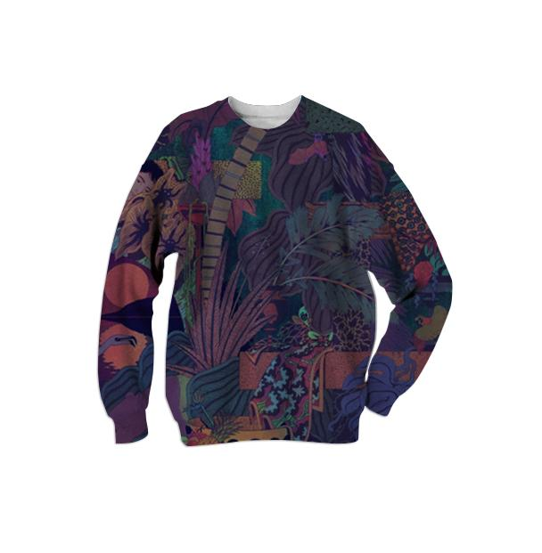 Glass Animals Zaba Print Sweater