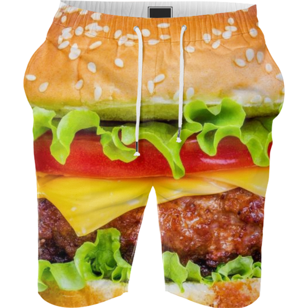2 Burger Summer Shorts