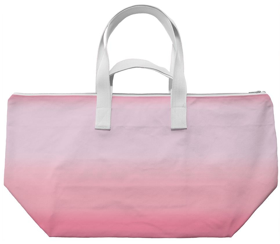 Pansy Pink Ombre Weekend Bag