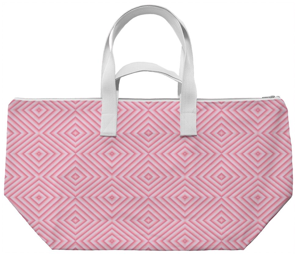 Pink Diamond Weekend Bag