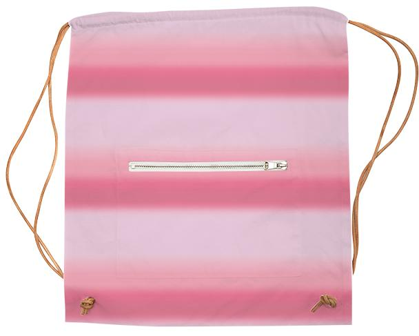 Pink Ombre Pattern Sports Bag