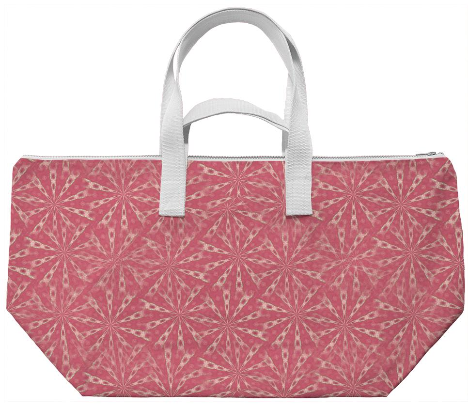 Coral Pink Weekend Bag