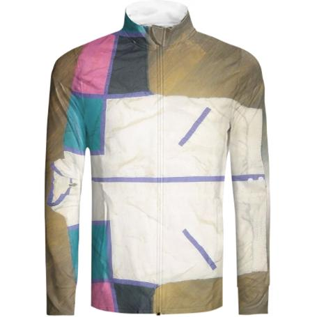ExtraLayer Squares Tracksuit Jacket