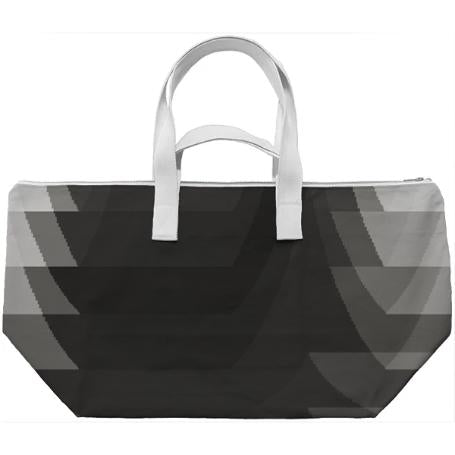 Black and White Weekend Bag