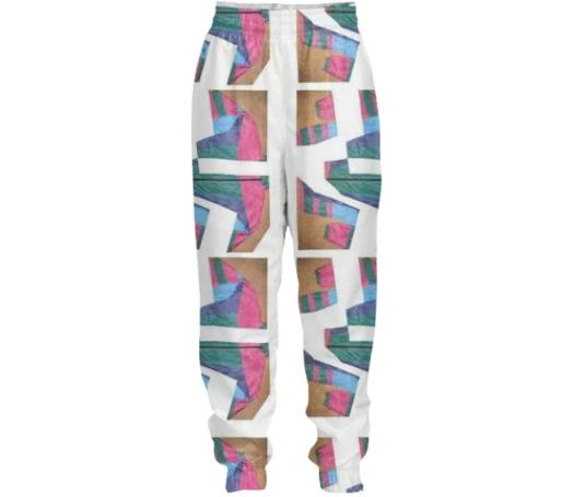 ExtraLayer Cracked Tracksuit Pant