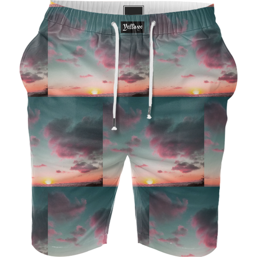 Yellave Sunset Shorts