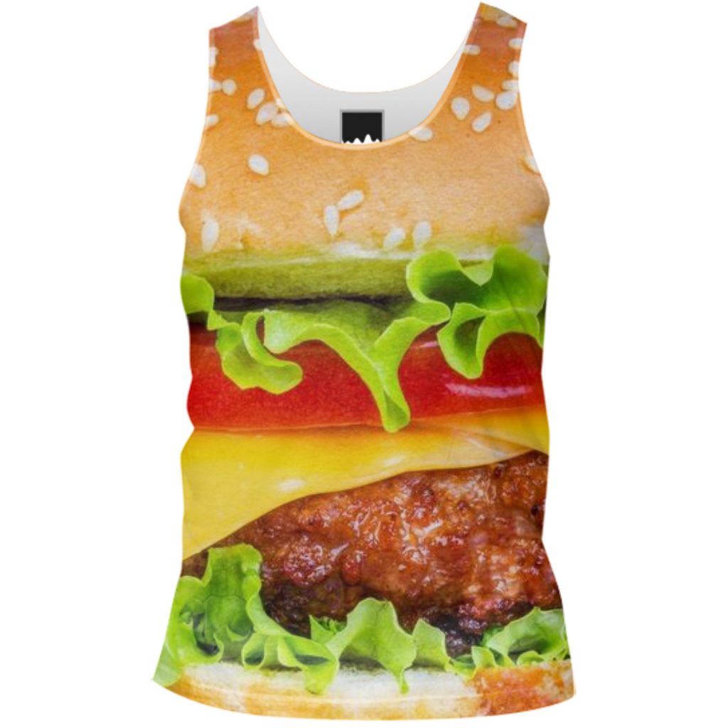 2 Burger Tank Top Men