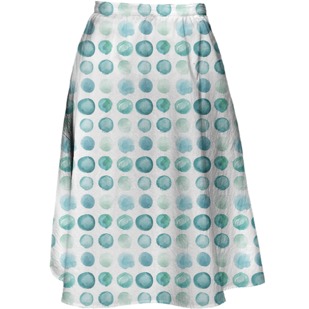 aqua Sea Glass Juul Skirt