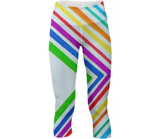 Zig Stripe Yoga Pants