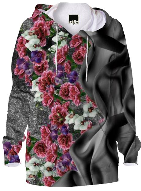 Fabric Garden Black Sweatshirt