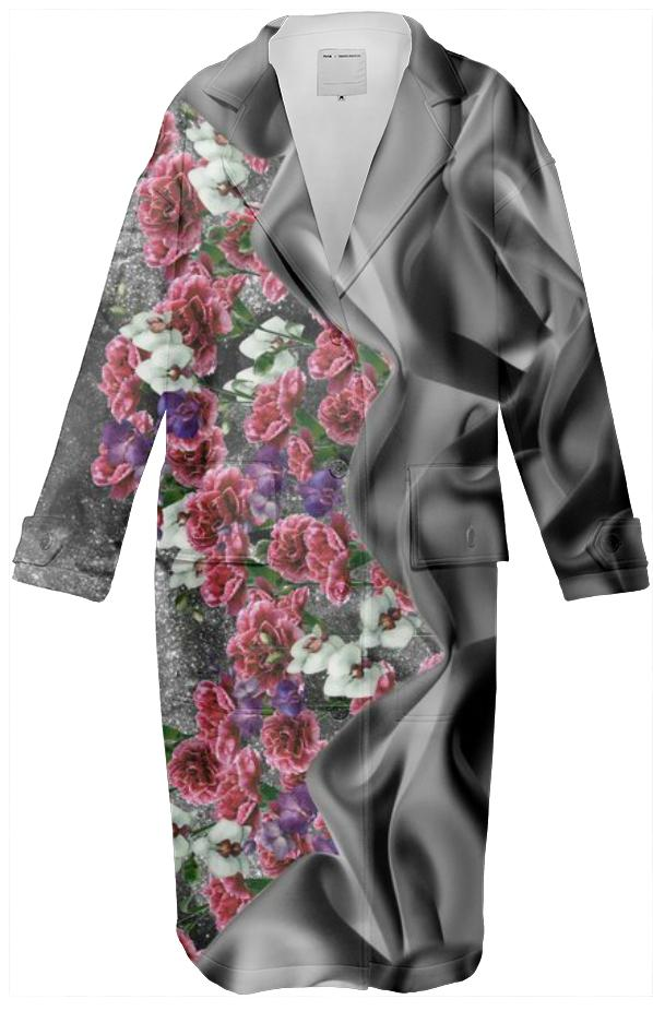 Fabric Garden Black Coat