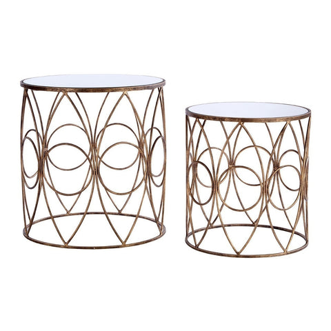 Avantis Round Tables Bronze-Furniture-Retail Therapy Interiors