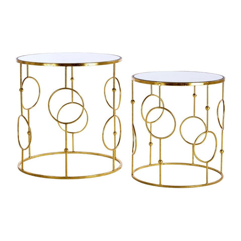 Avantis Round Tables Gold-Furniture-Retail Therapy Interiors