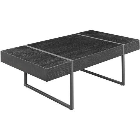 Black Oak Effect Coffee Table-Furniture-Retail Therapy Interiors