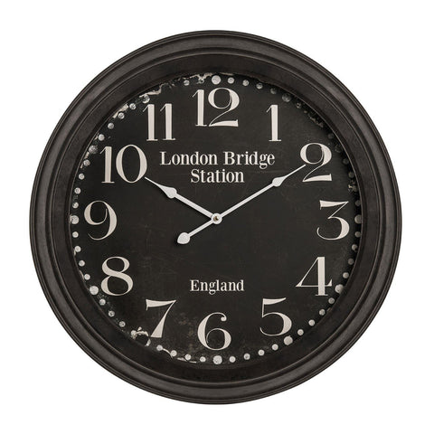 Bold London Bridge Wall Clock-Clocks-Retail Therapy Interiors