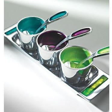 Brushed Coloured Aluminium Pickle Tray-Kitchenware-Retail Therapy Interiors