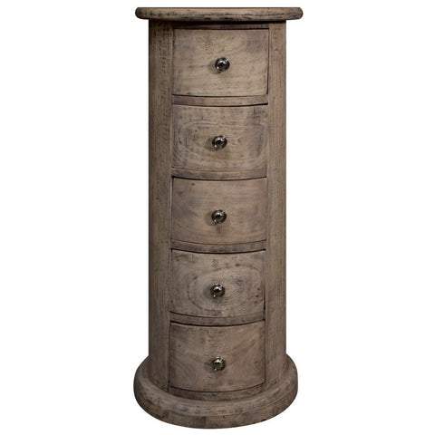 Frontier 5 Drawer Drum-Furniture-Retail Therapy Interiors