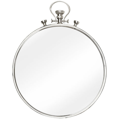 Hampstead Pocket Style Wall Mirror 51cms-Mirrors-Retail Therapy Interiors