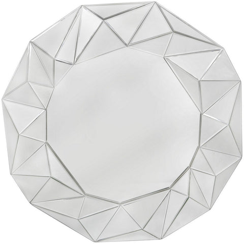 Iceberg Wall Mirror 100cms-Mirrors-Retail Therapy Interiors